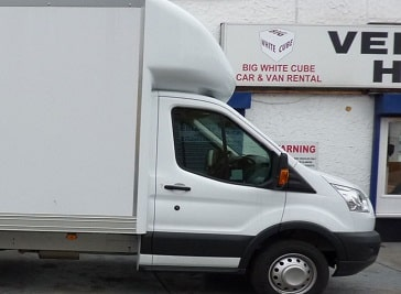 Big White Cube Vehicle Hire in Romford