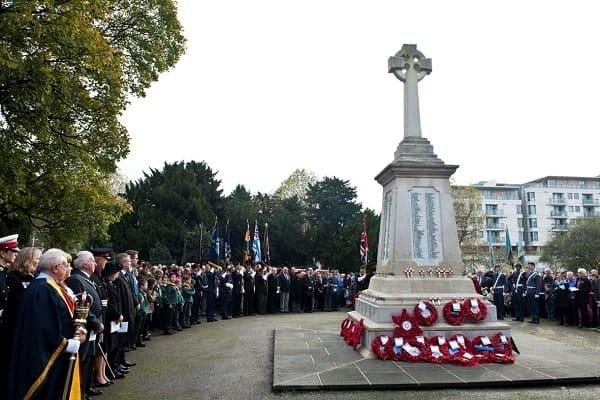 War Memorial in Romford